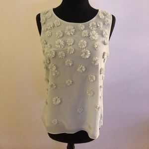 Ann Taylor Blouse sleeveless size MP
